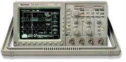 TEKTRONIX TDS420A/5/1M/2F OSCILLOSCOPE, DIGITIZING, OPT. 5/1M/2F